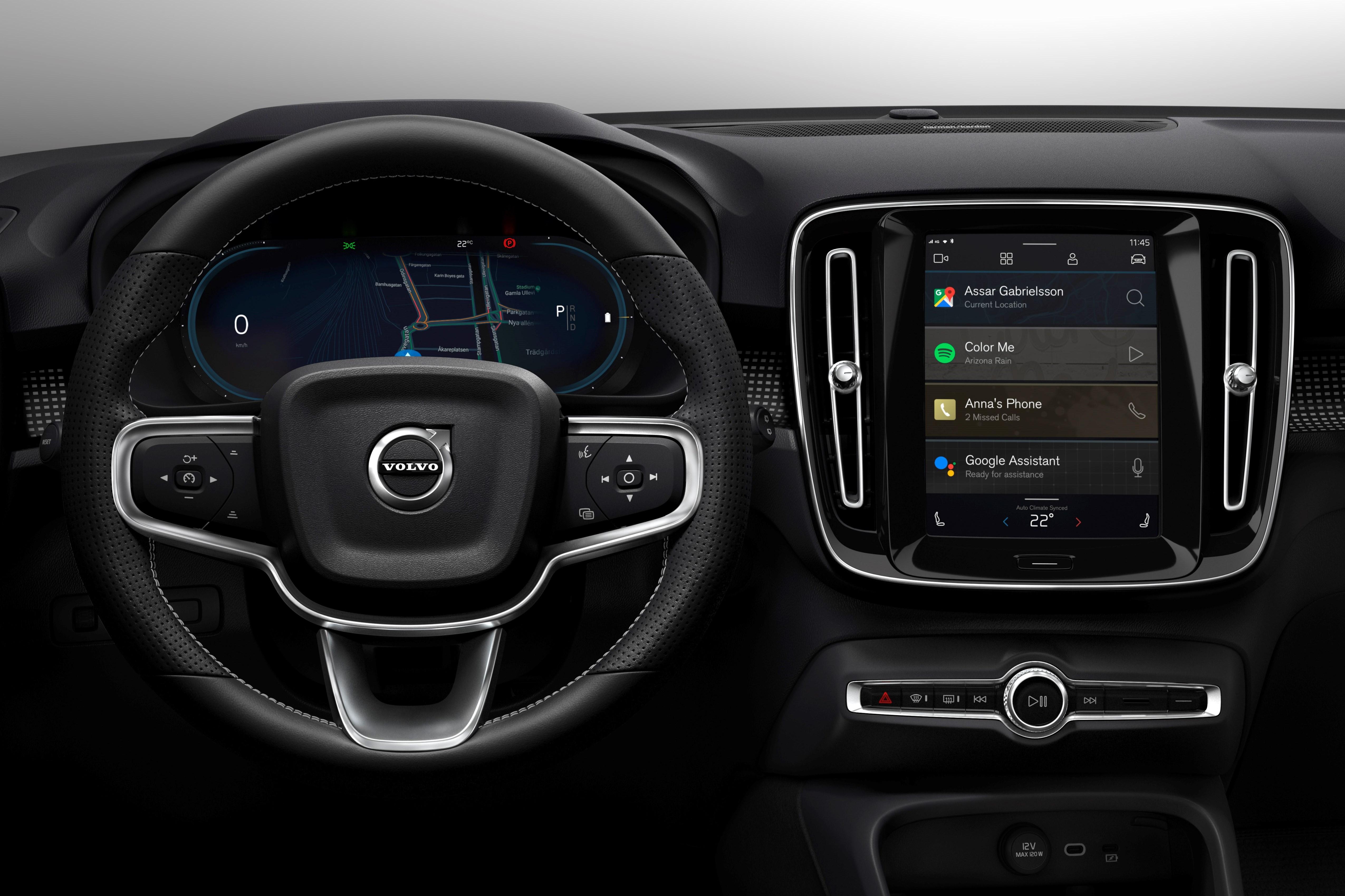 Elektrische Volvo XC40 met Android Automotive