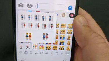 nieuwe emoji iOS 13.2