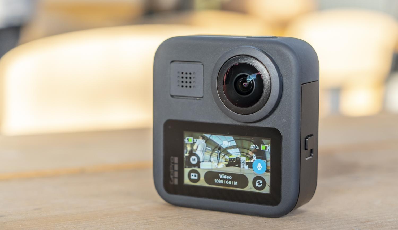 GoPro Max design