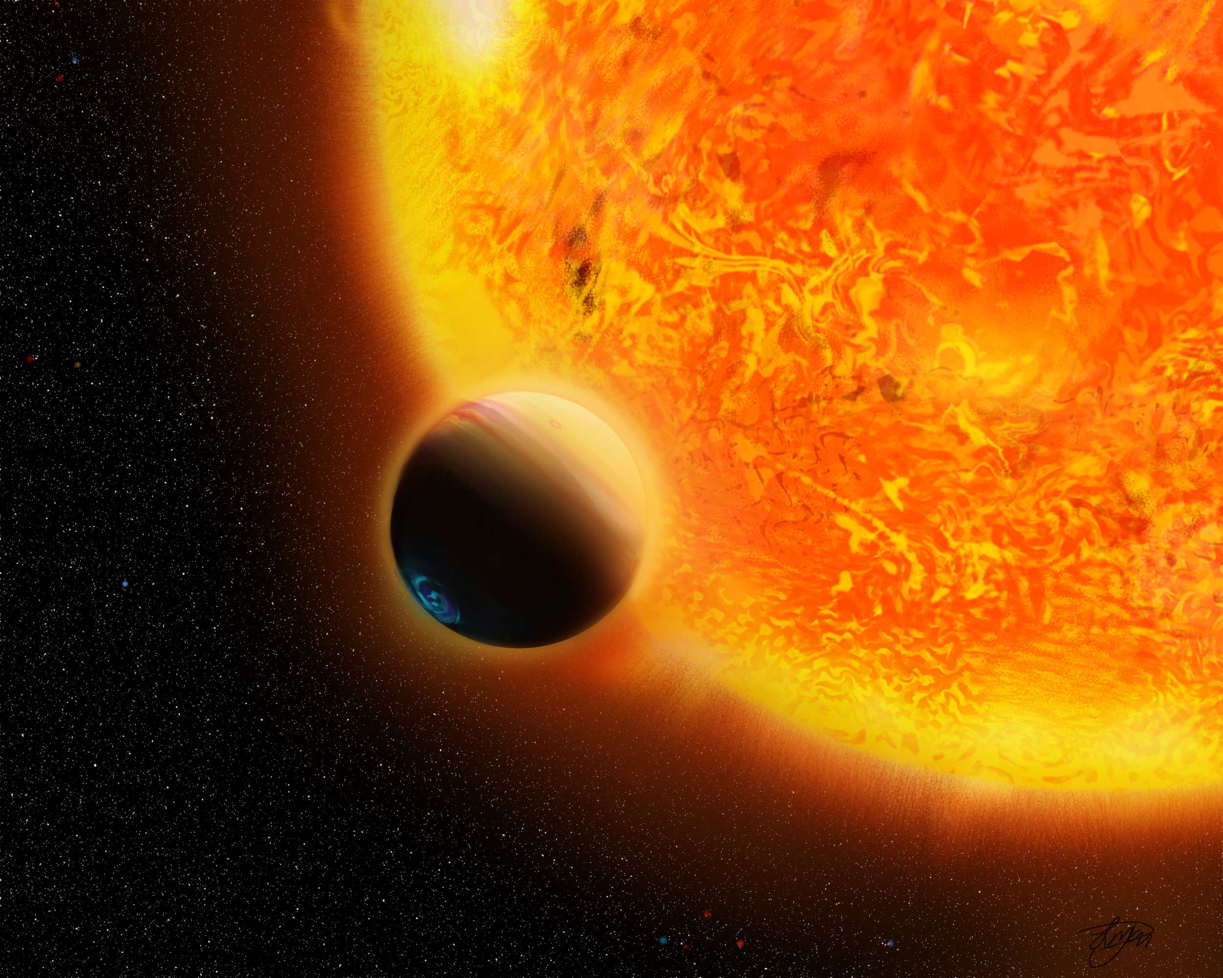 exoplaneet HAT-P-6b
