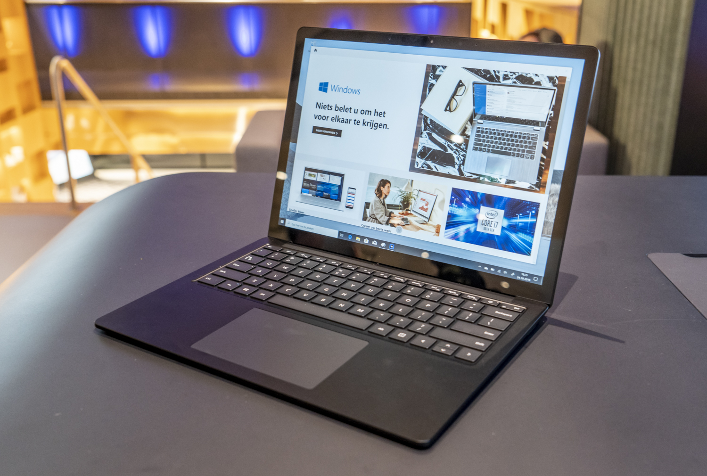 Microsoft Surface Laptop 3 preview overzicht