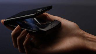 Motorola RAZR opvouwbare smartphone