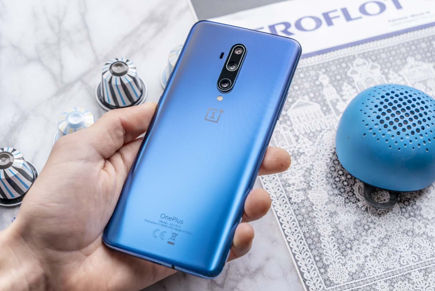 OnePlus 7T Pro review achterkant