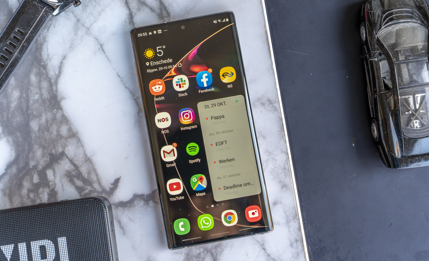 Samsung Galaxy Note 10 review design