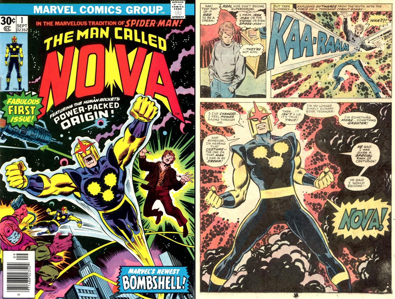 Marvel nieuwe superheld Nova