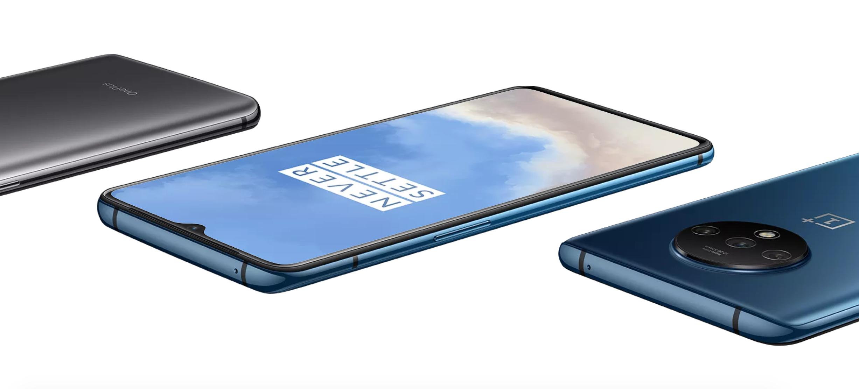 OnePlus 7T overzichtsshot