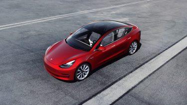 Tesla Model 3 elektrische auto