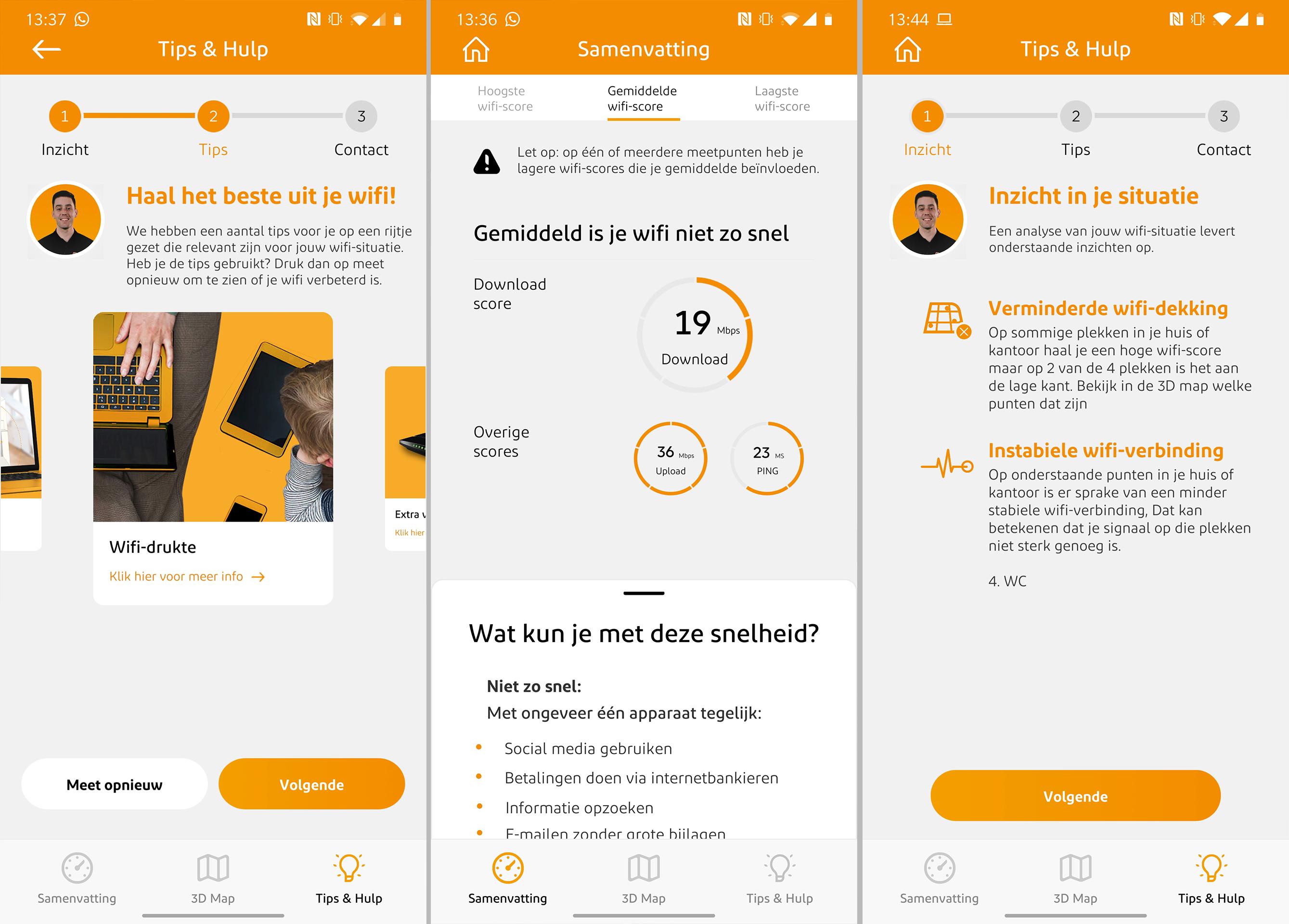 Wifi problemen oplossen app screenshot