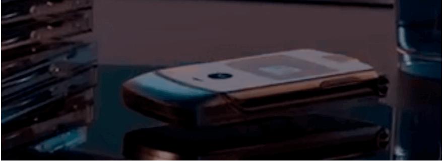Motorola opvouwbare RAZR