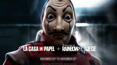 Rainbow Six Siege ontmoet La Casa de Papel