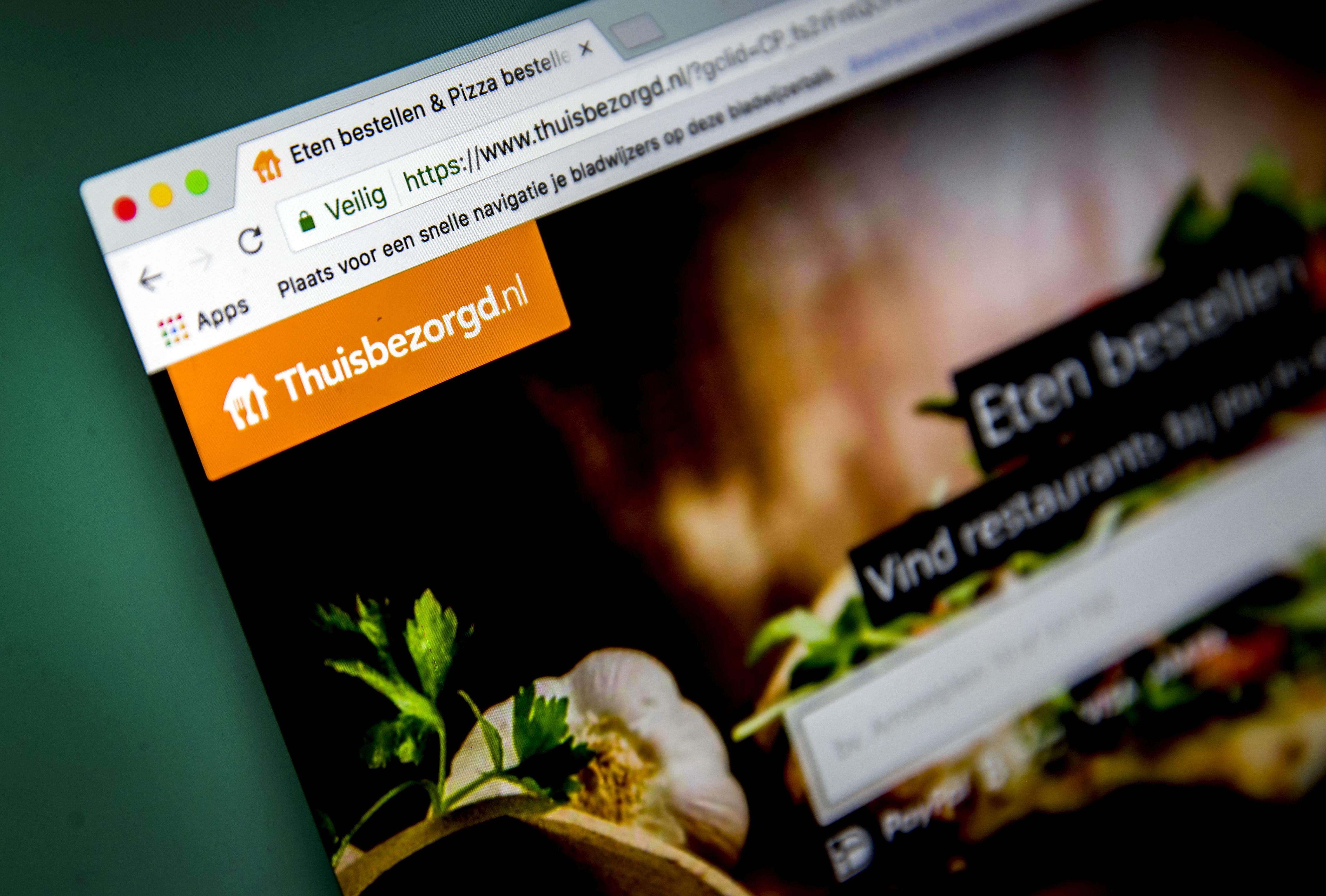 Thuisbezorgd website review