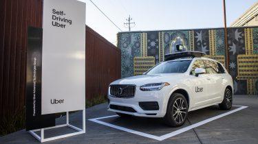 Uber zelfrijdende auto