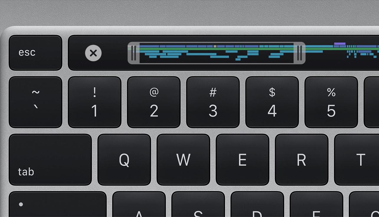 16-inch MacBook Pro Apple toetsenbord