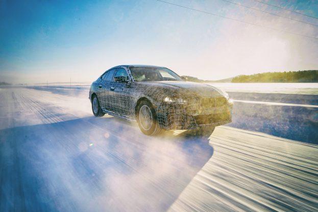 De elektrische BMW i4