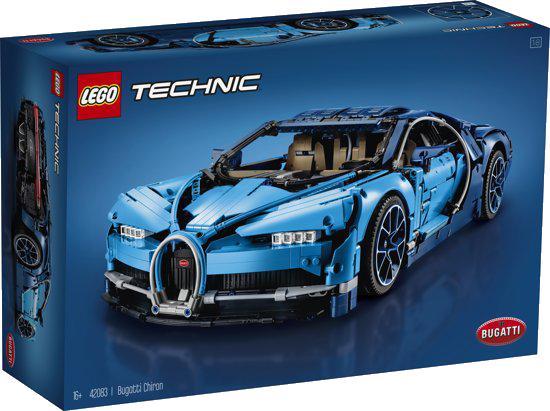 De LEGO Technic Bugatti Chiron.