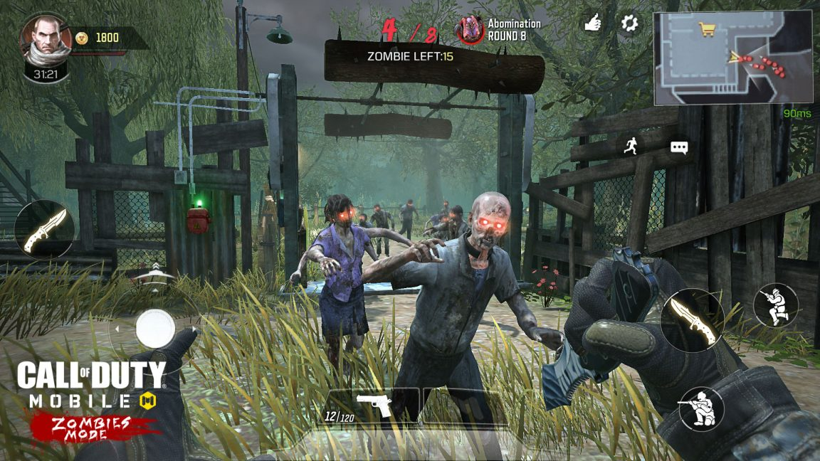Call of Duty: Mobile zombies