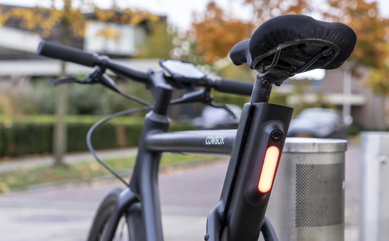 Elektrische fiets Cowboy review licht