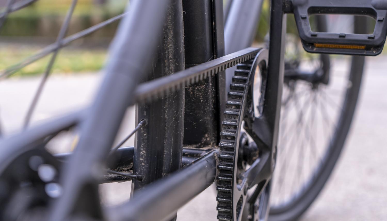 Elektrische fiets Cowboy review tandriem