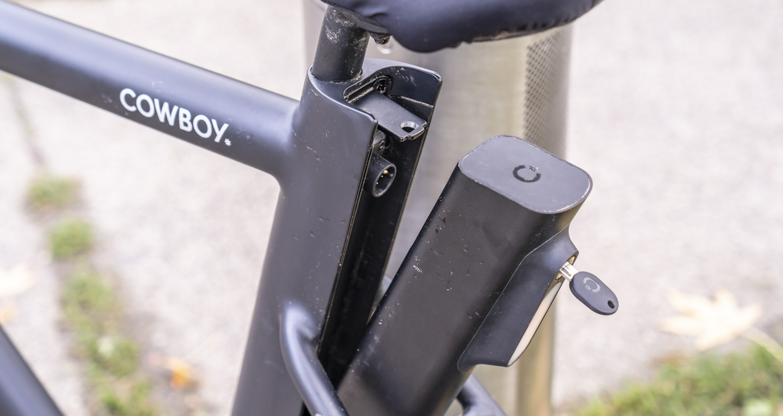 Elektrische fiets Cowboy review accu