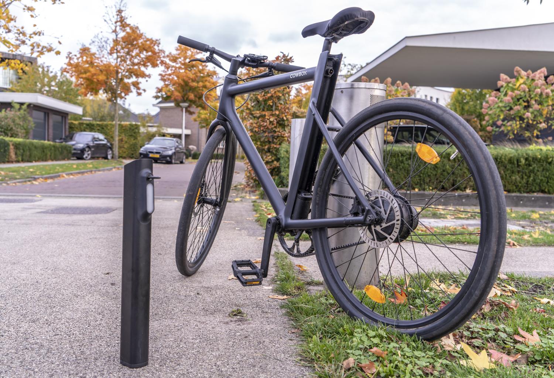 Elektrische fiets Cowboy review design met accu