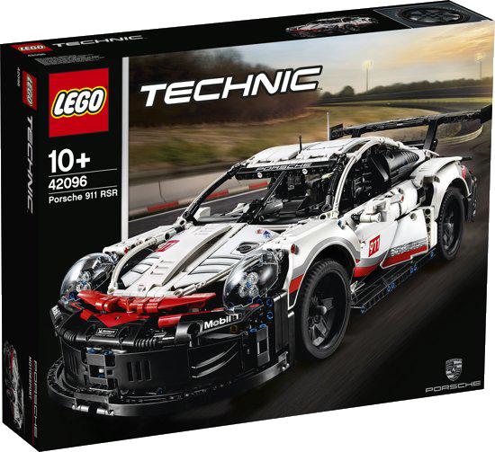 De LEGO Technic Porsche 911 RSR.