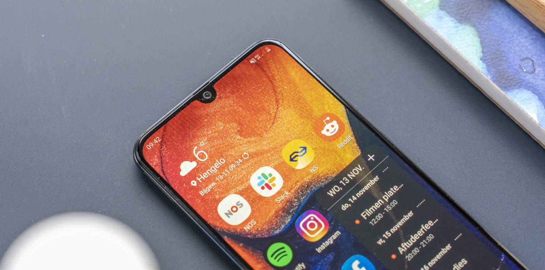 Samsung Galaxy A50 design notch