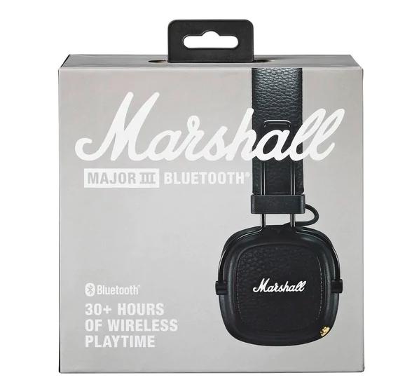Marshall Bluetooth koptelefoon