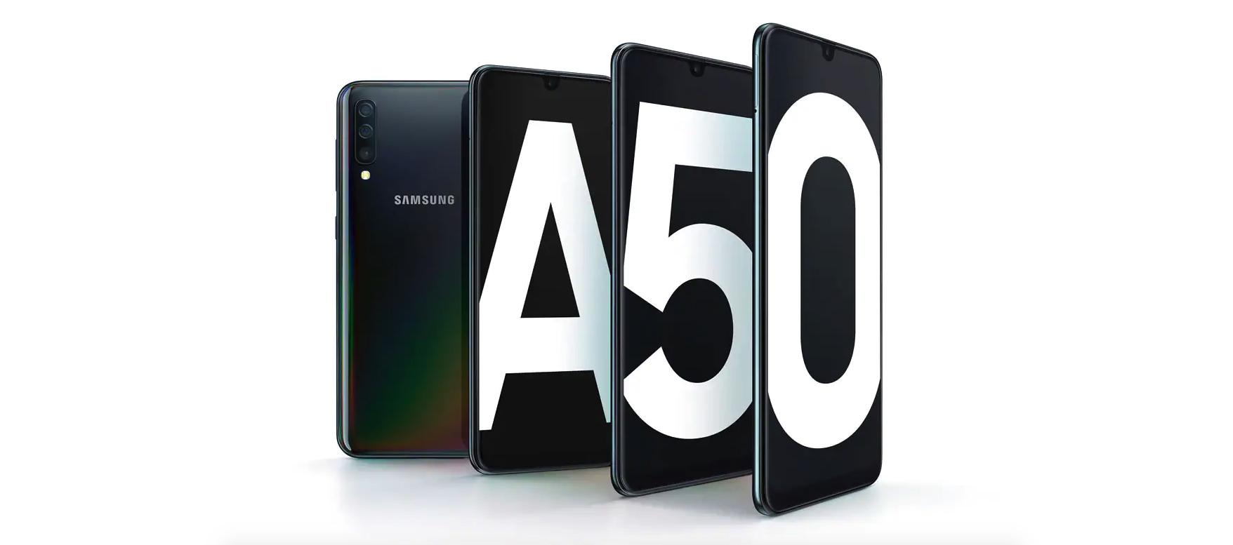 Samsung Galaxy A50 beste budgetsmartphones