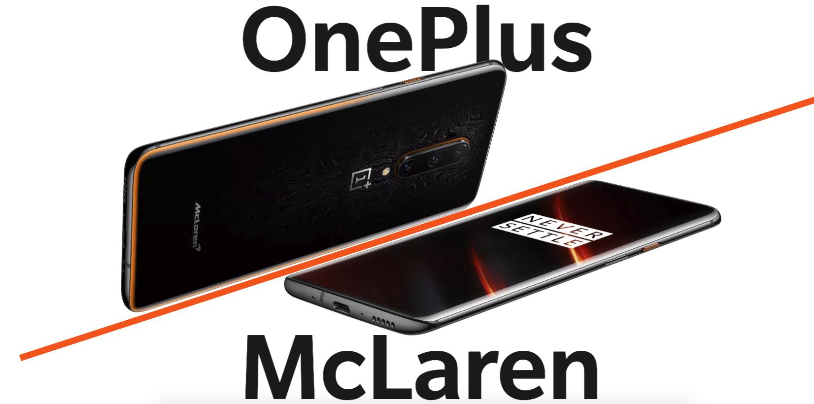 OnePlus 7T McLaren Edition beste smartphones
