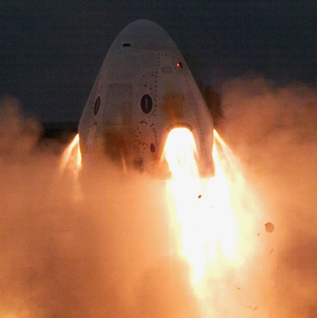 SpaceX Crew Dragon WANT