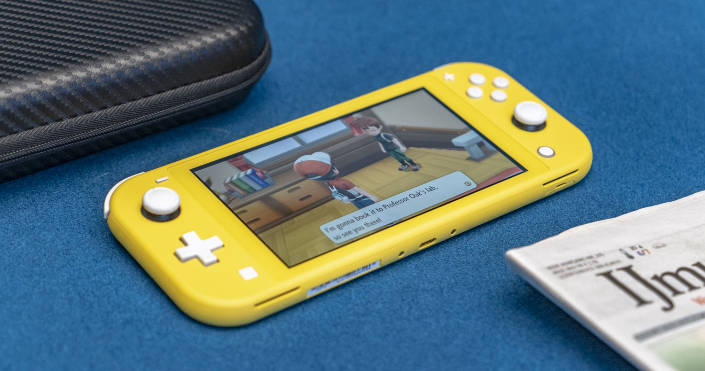 Nintendo Switch Lite foto overzicht