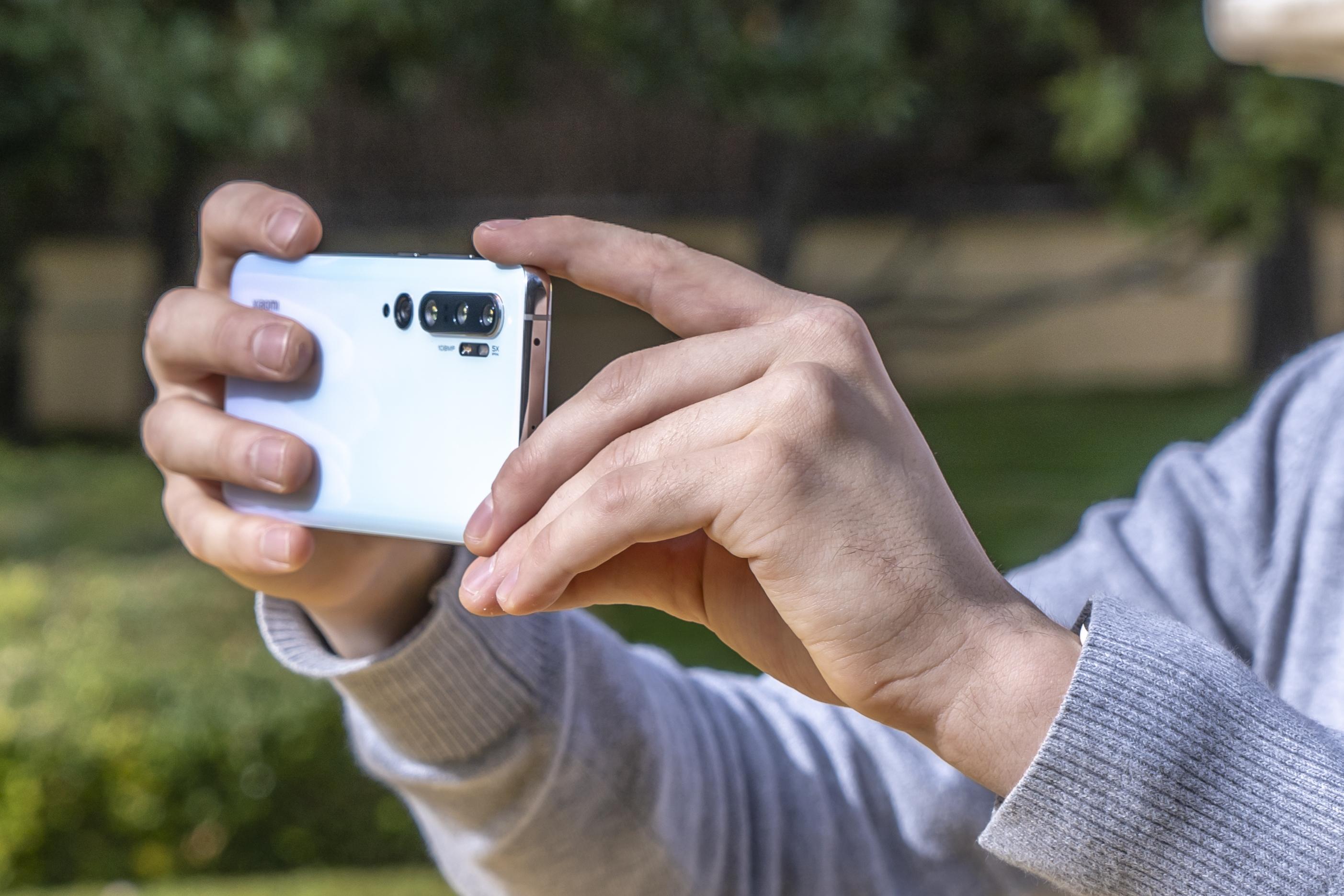 Xiaomi Mi Note 10 preview cameras