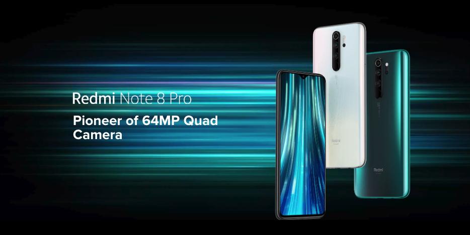 Xiaomi Redmi Note 8 Pro beste budgetsmartphones