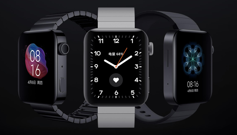 Xiaomi Mi Watch Apple Watch