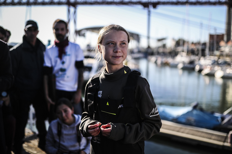 Greta Thunberg Portugal