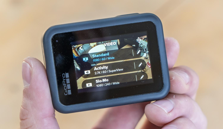 GoPro Hero 8 Black interface