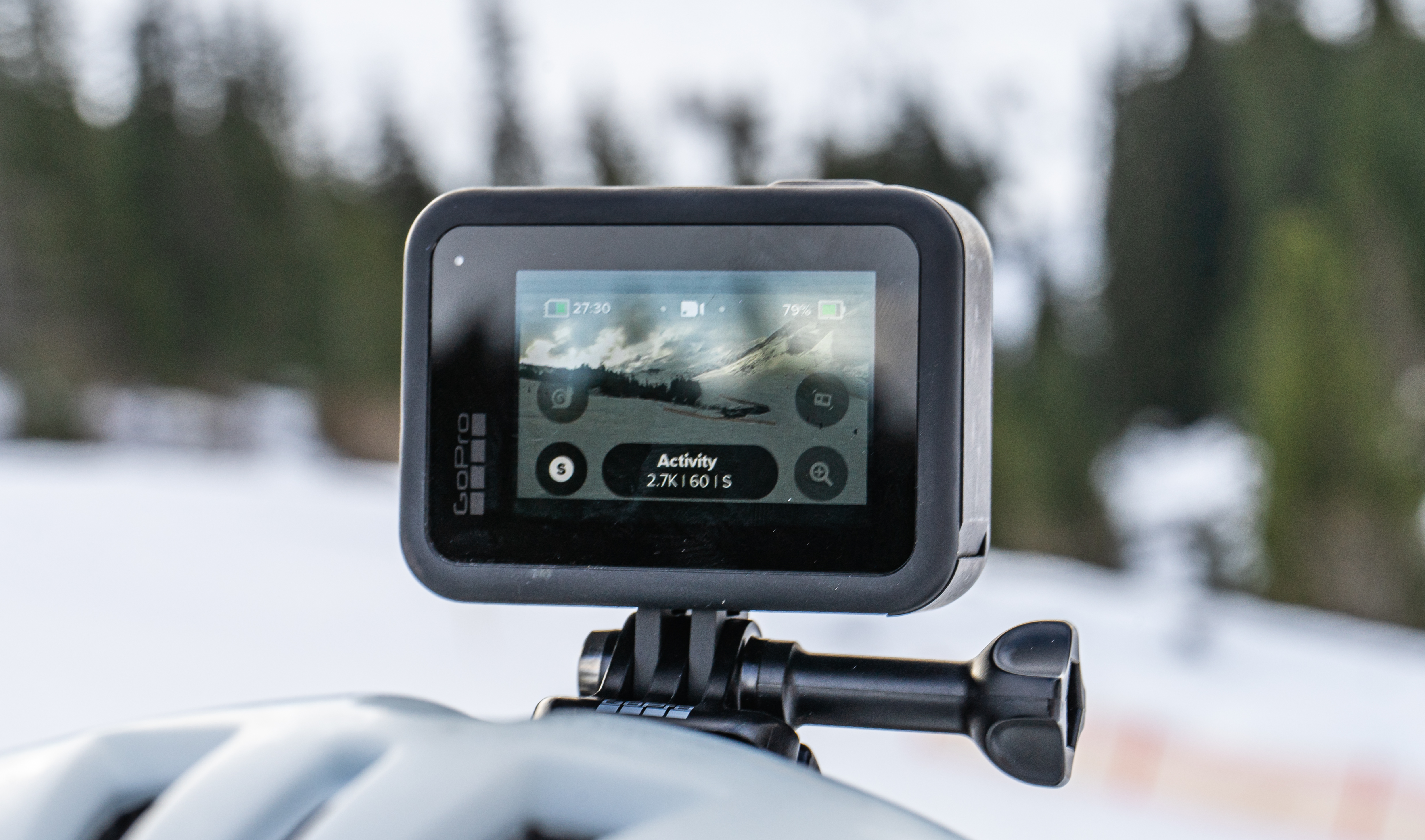 GoPro Hero 8 Black mount