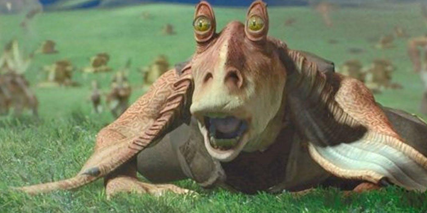 Jar Jar Binks in Star Wars