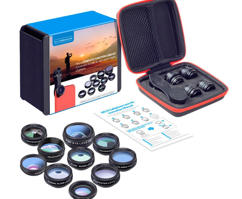 AliExpress smartphone camera lens set