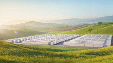 Tesla Megapack batterij Alaska