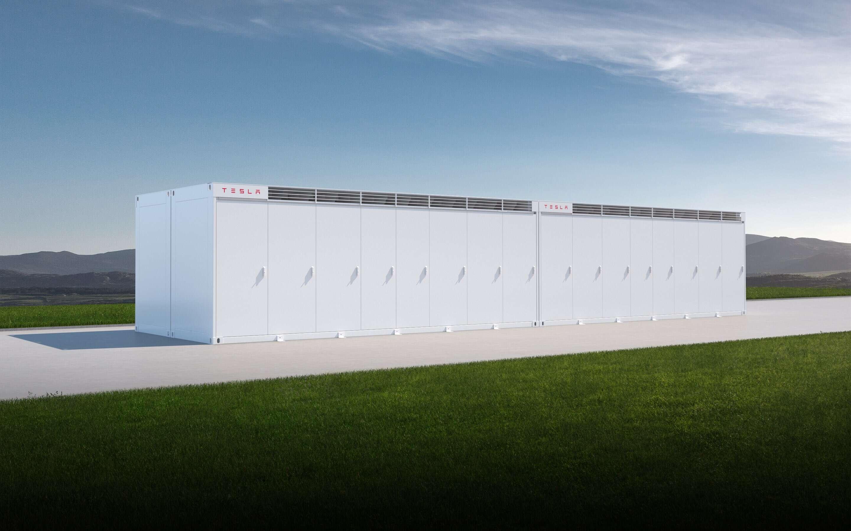 Tesla Megapack energie