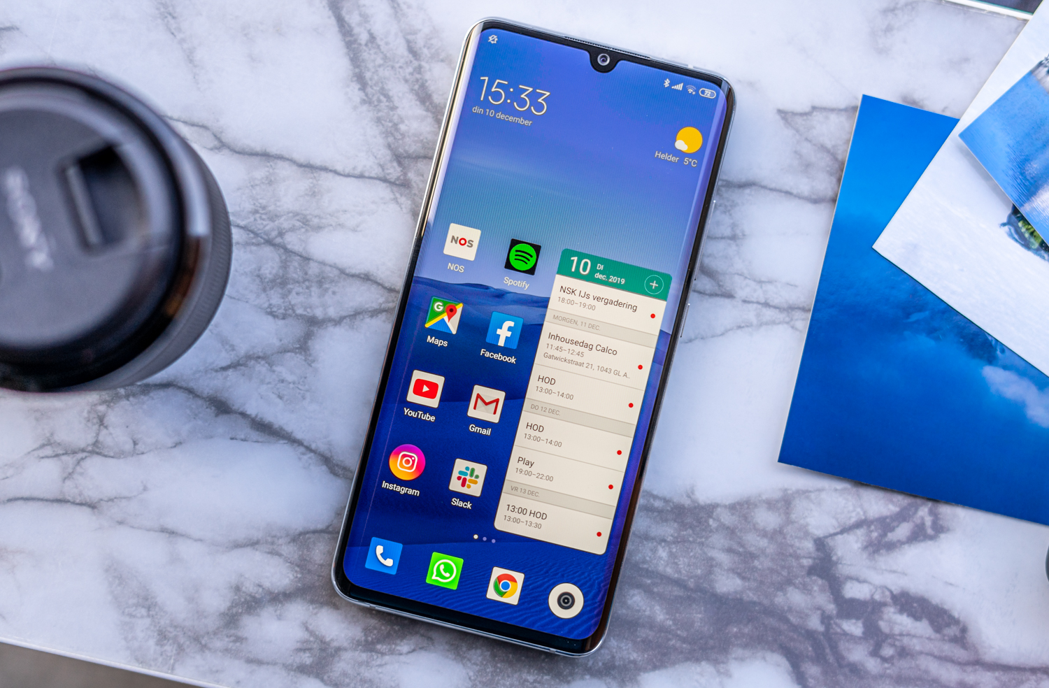 Xiaomi Mi Note 10 review design