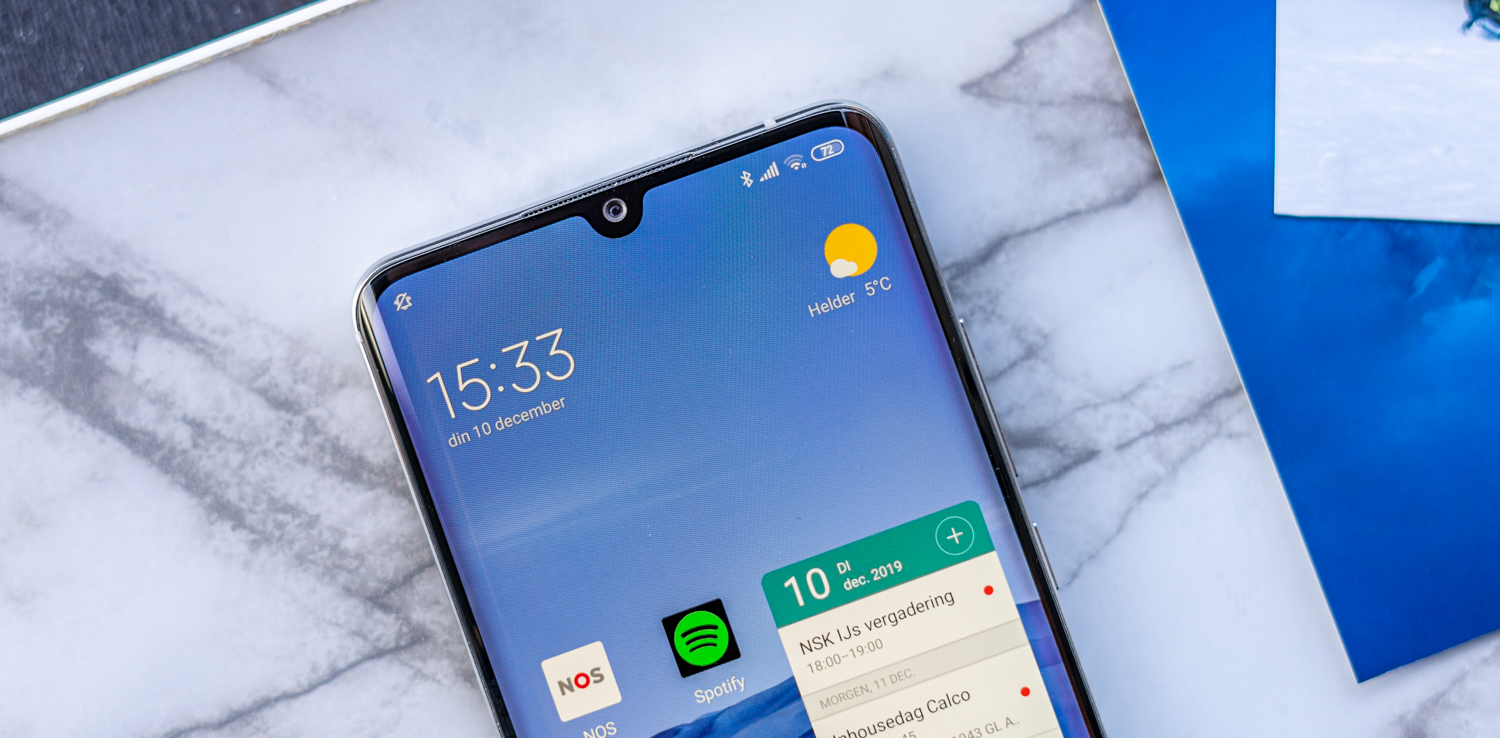 Xiaomi Mi Note 10 review notch
