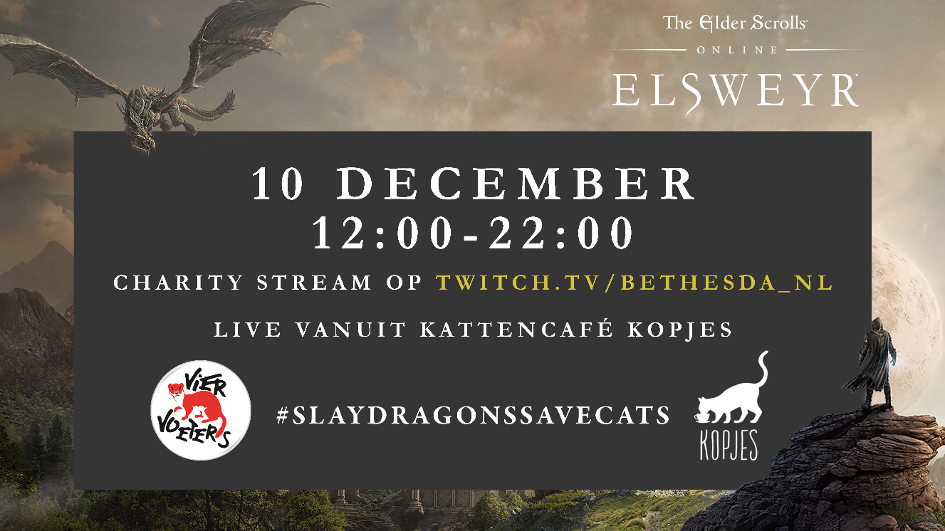 The Elder Scrolls Online goede doel