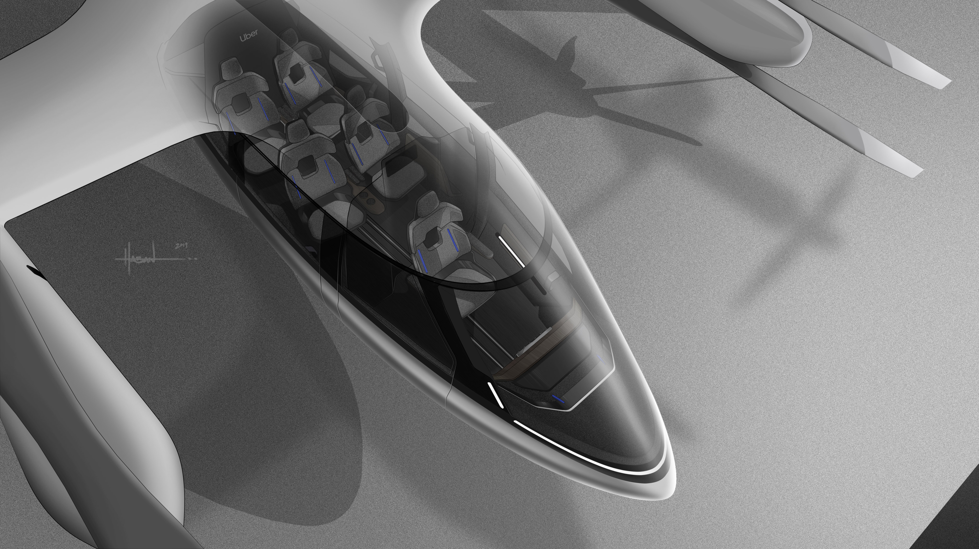Hyundai vliegende auto CES 2020