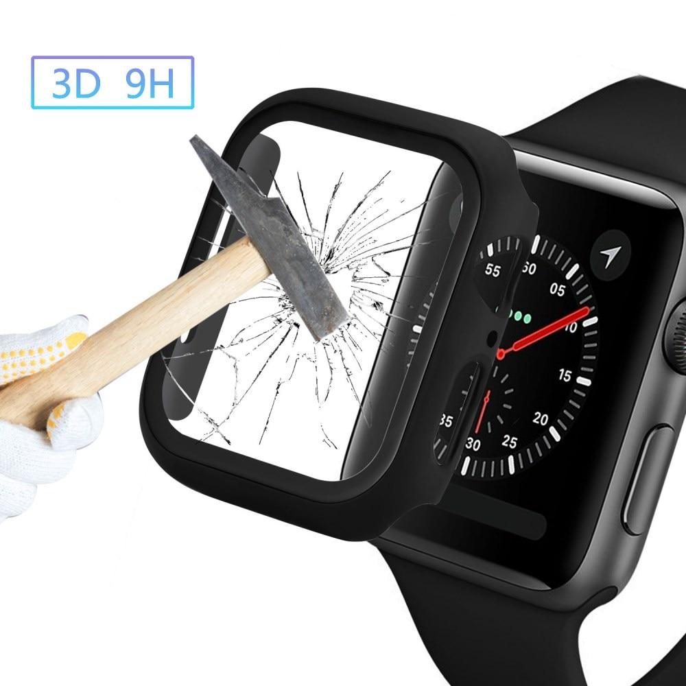 Apple Watch bumper case glas