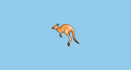 australia kangaroo emoji