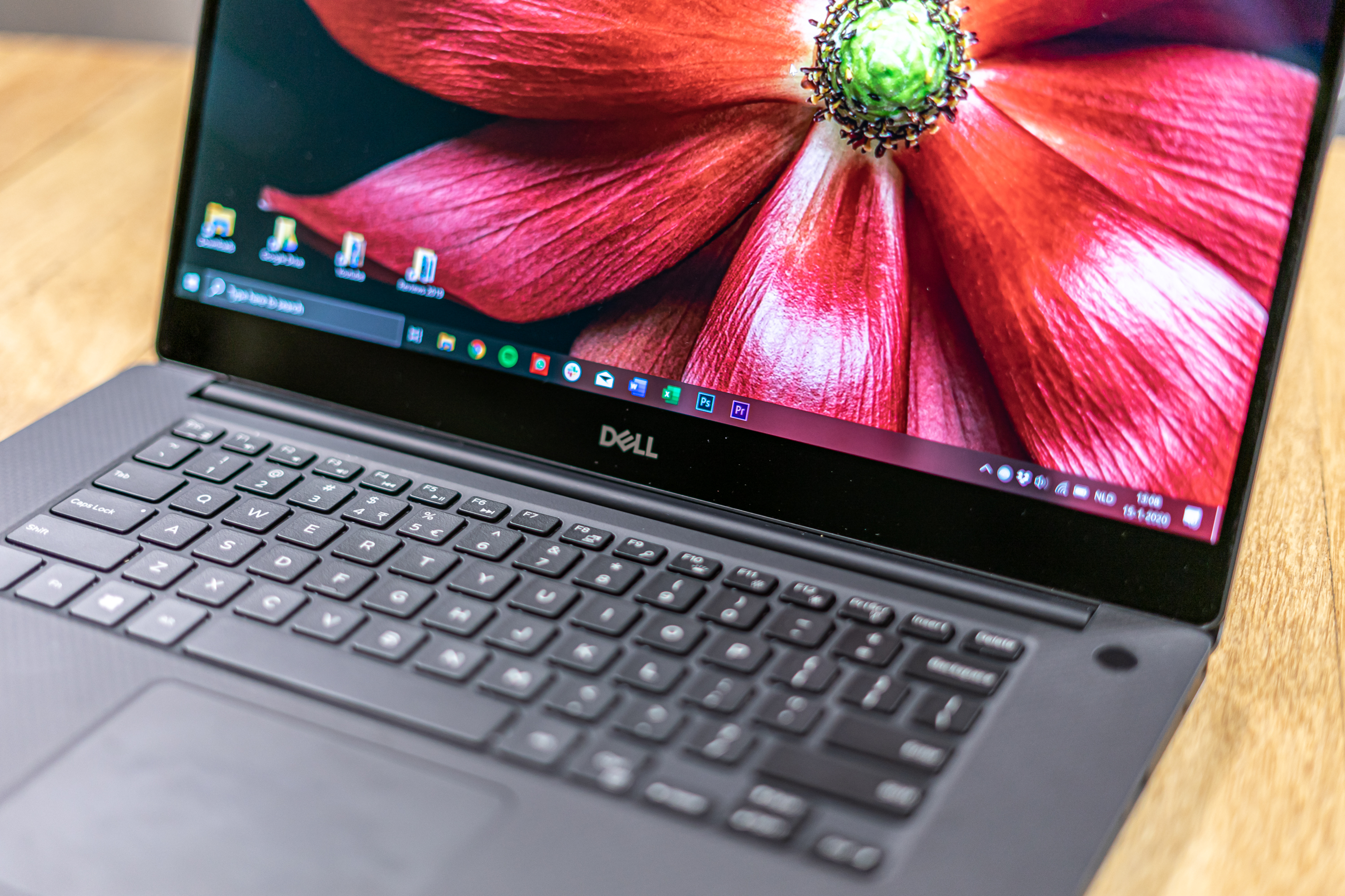 Dell XPS 15 review toetsenbord
