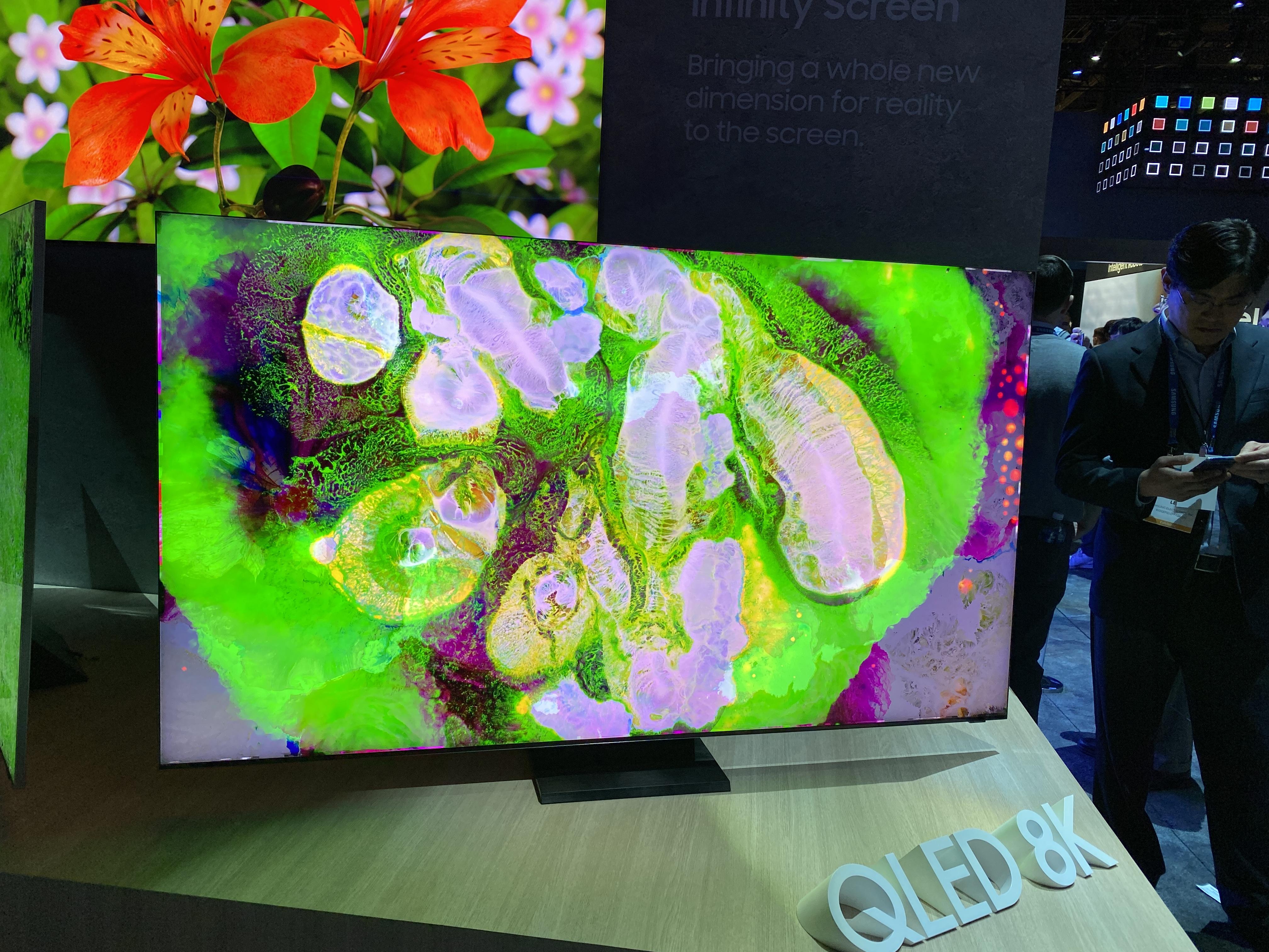 Samsung 8K-televisie CES 2020