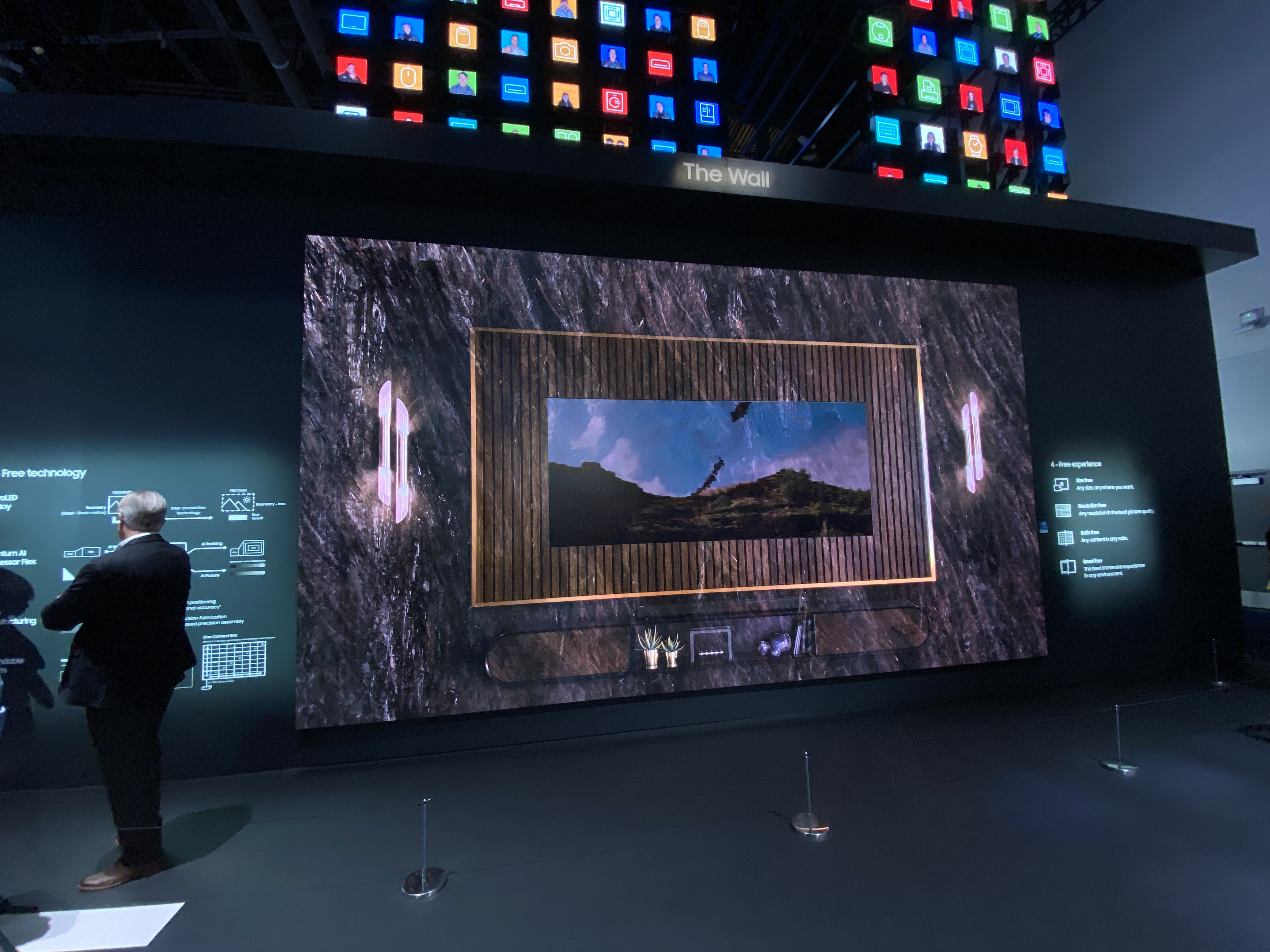 Samsung The Wall CES 2020